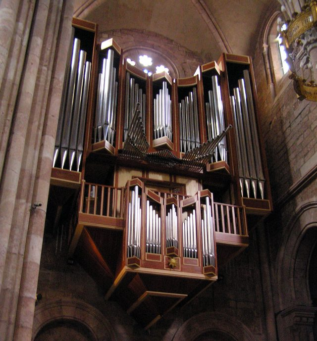 Organ of the Basilica of Covadonga