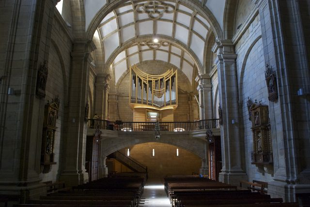 Organ of the Parish Church of San Nicolás de Bari in Orio (Guipúzcoa)
