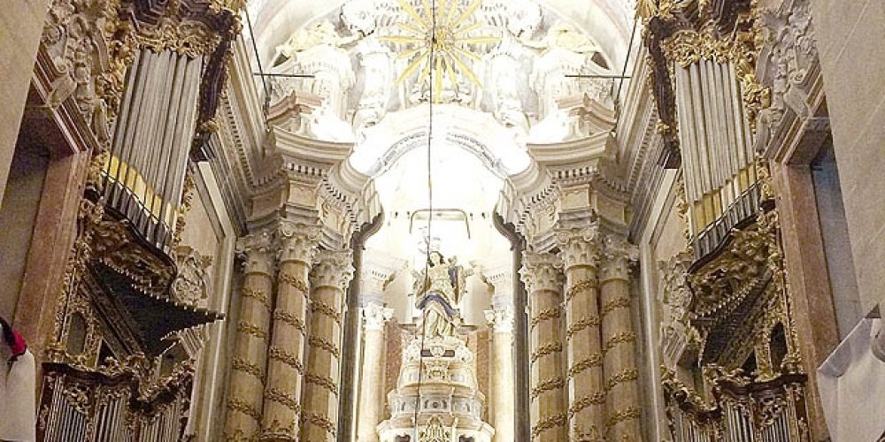 The Church of the Clergy of Oporto inaugurates the two organs restored by the Workshop of Taller de Organería Acitores de Torquemada
