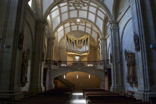 Órgano de la Iglesia Parroquial de San Nicolás de Bari  en Orio (Guipúzcoa)